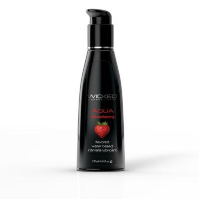 Aqua Strawberry 4 oz